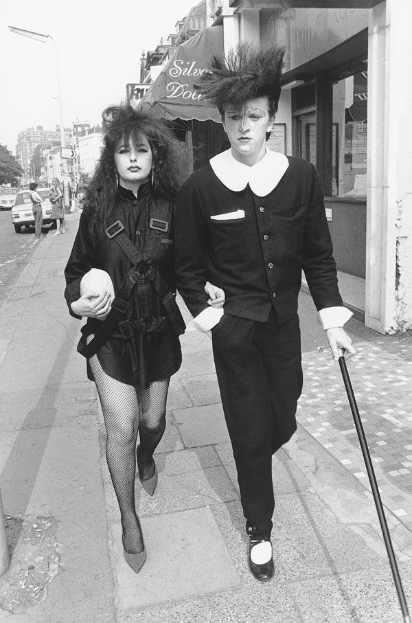 We Can Be Heroes, Steve Strange, Covent Garden, London, 1981 #dressmaking #calicolaine