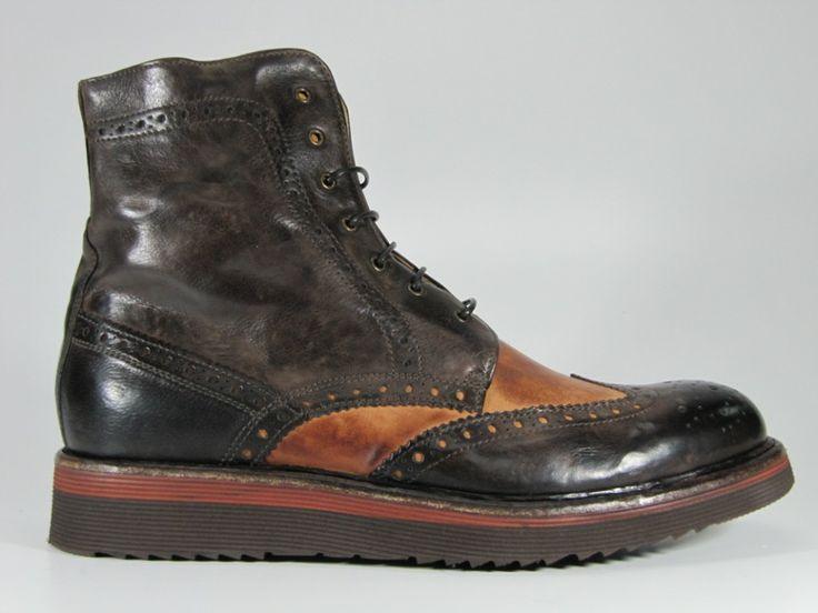 CORVARI – STIVALETTO CON LACCI PER UOMO #scarpe #uomo