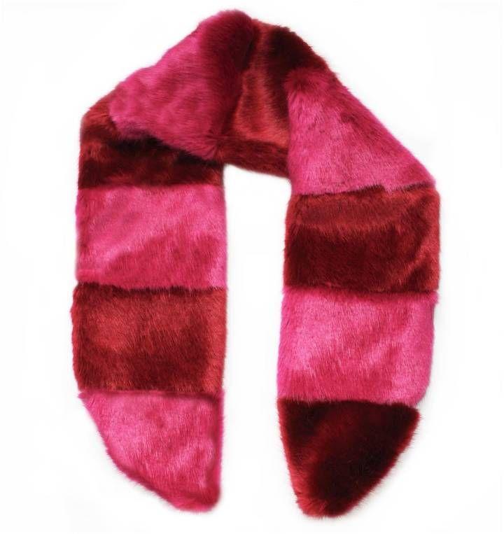 Florence Bridge - Pick & Mix Scarf Red & Pink