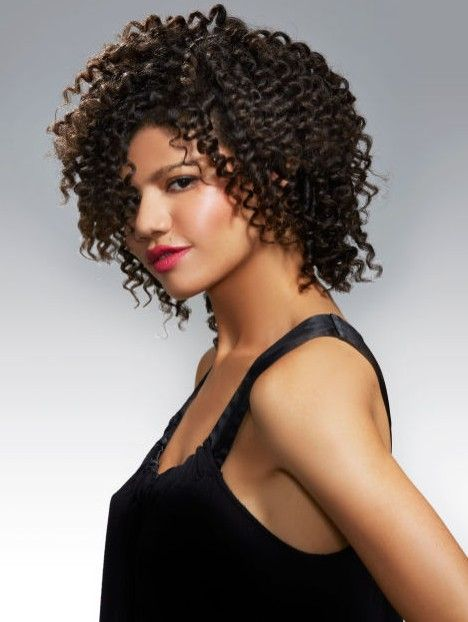 Kıvırcık Saçlılar İçin Siyah Saç Önerileri