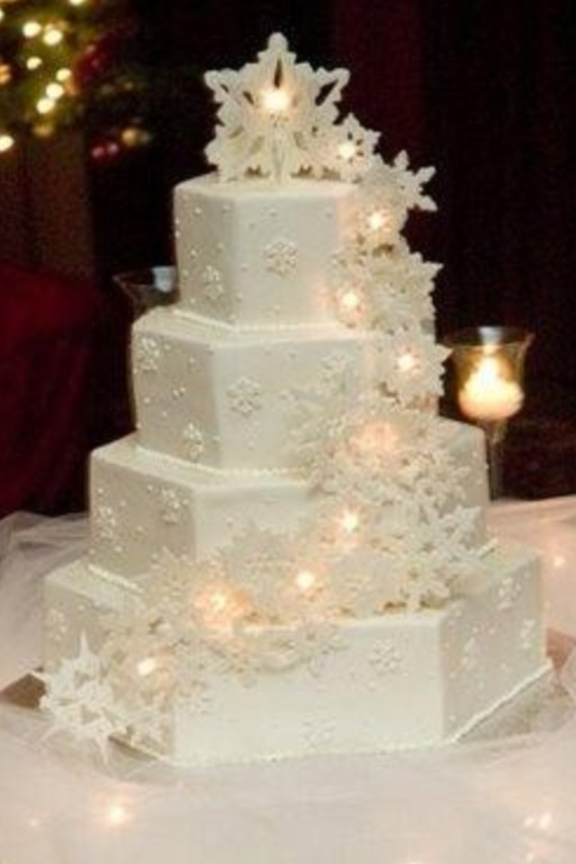 99 Best Winter Wedding Cake Ideas Images On Pinterest