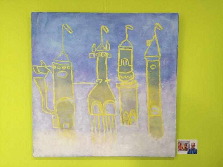 """""""Het luchtkasteel""""- S&L Zorg: Kunstsjop - Kunstatelier voor mensen met een verstandelijke beperking"""