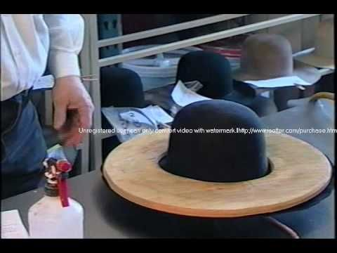 How is a cowboy hat made? Old-fashioned hat making custom hats ✄ https://www.youtube.com/watch?v=-myBKRYSw-s