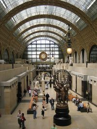 See the world's largest collection of Impressionist art on a Skip-the-Line tour of the Musée d'Orsay in Paris. Your two-hour small-group guided tour takes in masterpieces from renowned artists, including Van Gogh and Monet, that are housed in the Orsay museum building - former Beaux-Arts railway station.