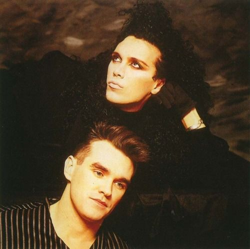 Pete Burns & Morrissey