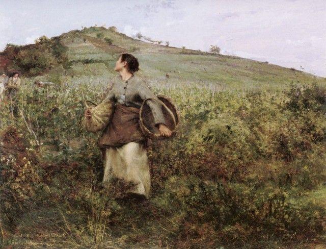 Jules Bastien-Lepage - At Harvest Time
