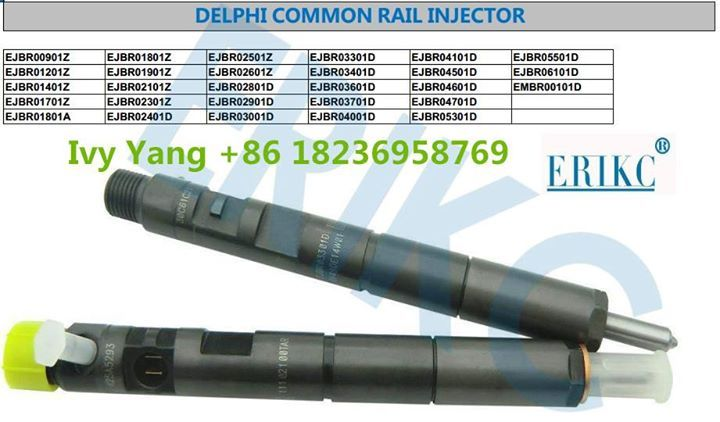 Delphi Common Rail Injector List EJBR00901Z EJBR01801Z EJBR02501Z EJBR03301D EJBR04101D EJBR05501D EJBR01201Z EJBR01901Z EJBR02601Z EJBR03401D EJBR04501D EJBR06101D EJBR01401Z EJBR02101Z EJBR02801D EJBR03601D EJBR04601D EMBR00101D EJBR01701Z EJBR02301Z EJBR02901D EJBR03701D EJBR04701D EJBR01801A EJBR02401D EJBR03001D EJBR04001D EJBR0530D; Welcome inquiry. Contact: Ivy Email:ivy@liseronnozzle.com  Skype:Liseronnine Phone/whatsapp/ICQ/Line: 86 18236958769