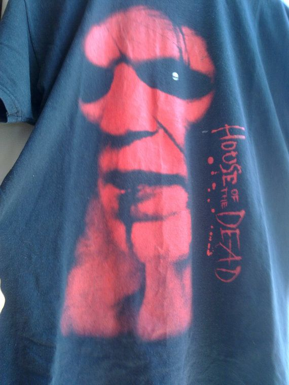 House of the Dead original horror  movie t di vintageremember