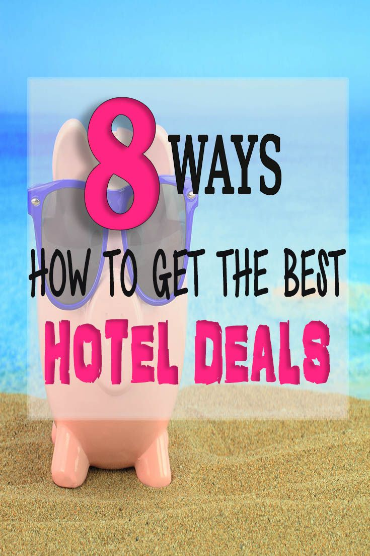 Never overpay for a hotel room again! Check out the best tips how to get the best hotel deals