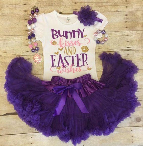 Egg Hunt Easter Egg Peach Pink Easter Tutu Easter Egg Hunt Light Green Baby Girl Easter Outfit Happy Purple Girl/'s Easter Outfit