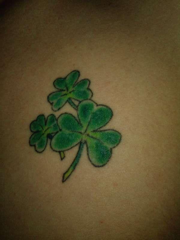 Image detail for -Shamrocks tattoo