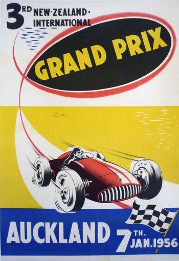 Smyth Galleries NZ Vintage Poster