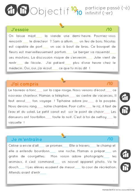 Orthographe Objectif 10 sur 10 - Cycle 3 | Orthographe cm1, Exercices orthographe et ...