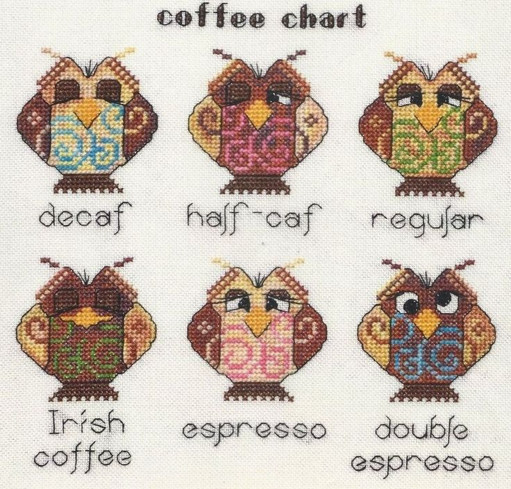 I love owls and I love coffee so what can be better!?