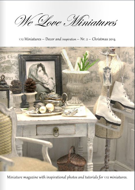 New We Love Miniatures Magazine - The Christmas edition 2014