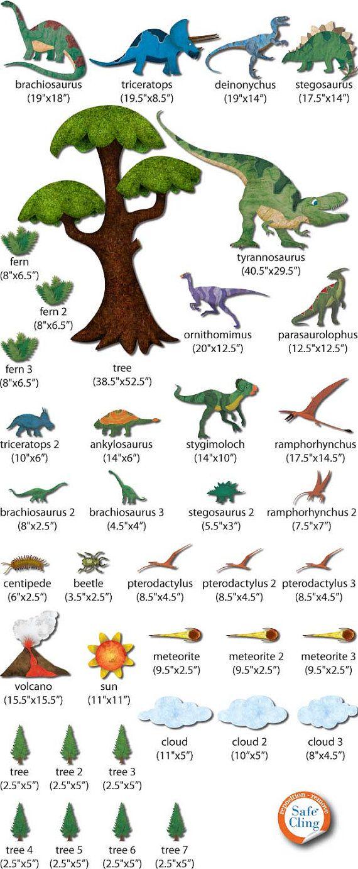 best 25 dinosaur wall stickers ideas on pinterest dinosaur wall dinosaur wall stickers decals for dinosaur theme room wall mural jumbo set