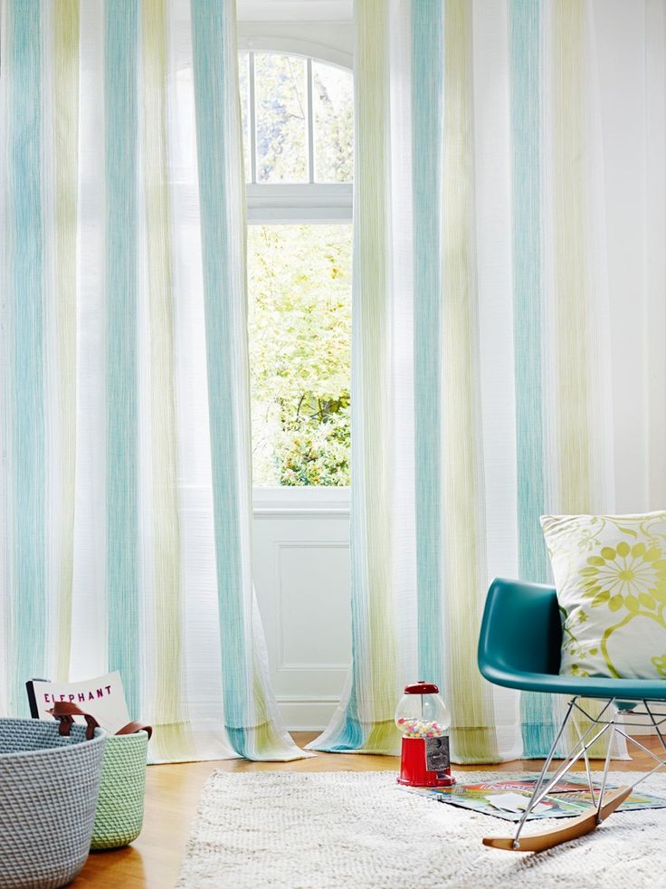 Rio Blue ADO 3140 863 Luxury Voile Curtain From Net Curtains Direct