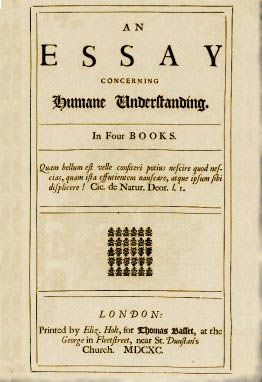 John Locke  An Essay Concerning Human Understanding  London         title  page