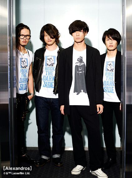 Alexandros (アレキサンドロス) is a Japanese rock band, signed to RX-RECORDS and managed by UK.PROJECT. ...