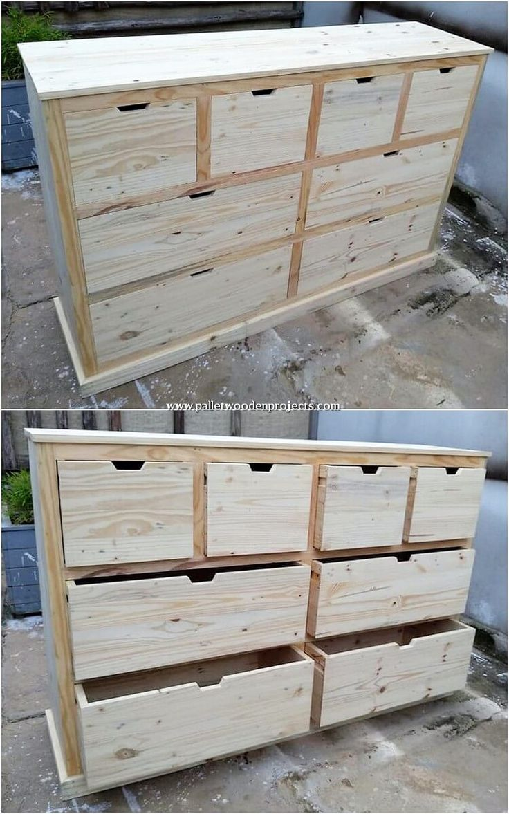 Stunning DIY Projects with Scraped Wooden Pallets