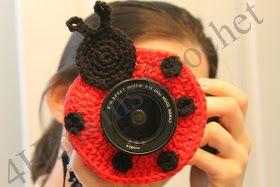 Camera lens buddy free pattern