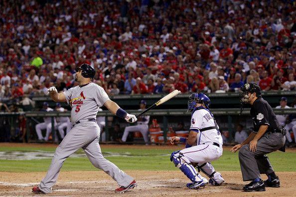Albert Pujols Photos: 2011 World Series Game 3 - Texas Rangers v St Louis Cardinals