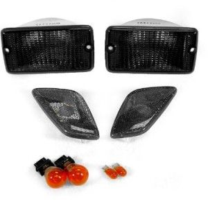 DEPO Jeep Wrangler TJ Smoke Turn Signal and Side Marker Lights Set