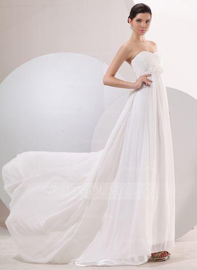 Beautiful simple wedding dress