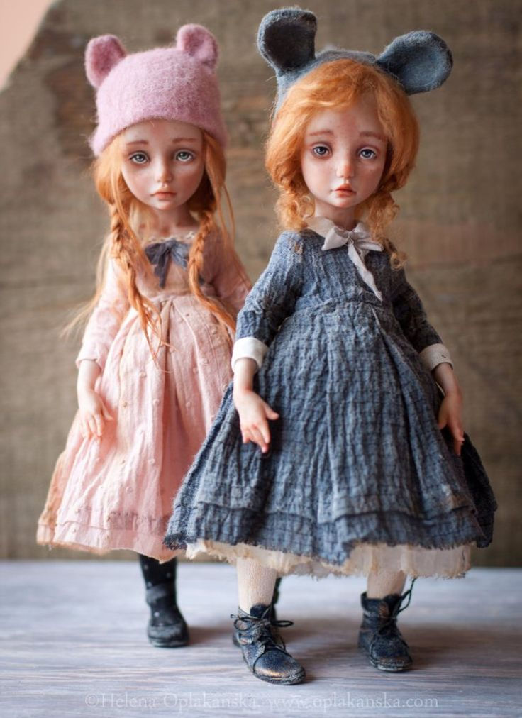 Art dolls by Helena Oplakanska