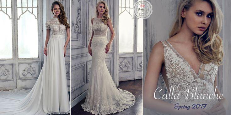 Calla Blanche, Fall 2017, as seen on dressfinder.ca