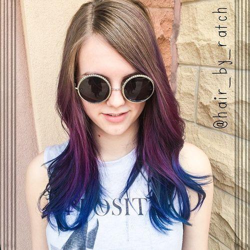 40 ottime idee di capelli ombre lavanda e viola! ,       L'idea di adottare un ombre hair su capelli lavanda e viola vi spaventa? Prima di abbandonare questa ipotesi, continuate a dare un'occhiata ...