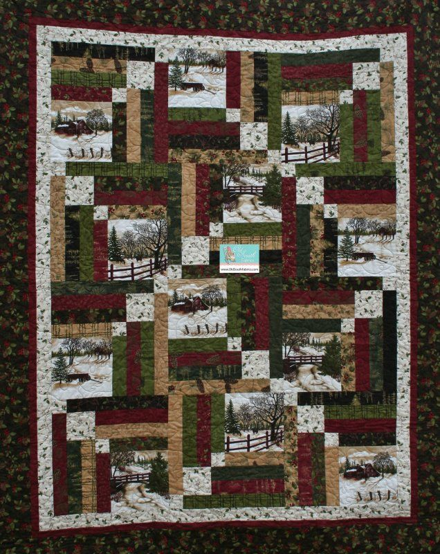 88 Best Quilts From Panels Images On Pinterest Quilting