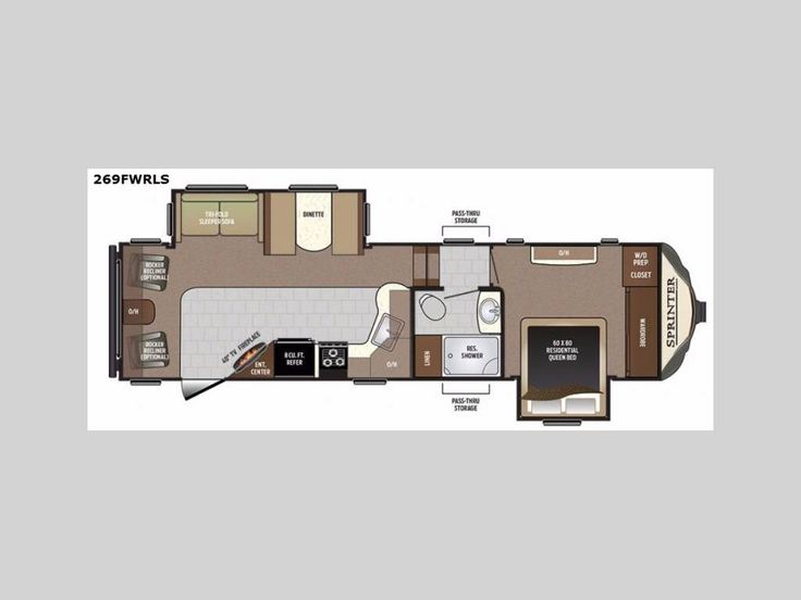 Check out this 2017 Keystone Rv Sprinter 269FWRLS listing in Uxbridge, MA 01569 on RVtrader.com. It is a Fifth Wheel and is for sale at $46729.