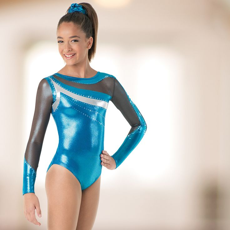 Premium metallic leotards from Dancewear Solutions are all-around winners.