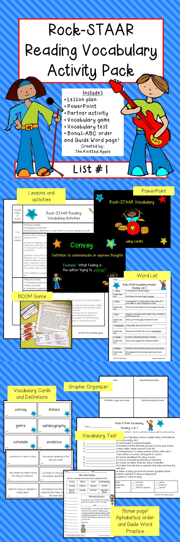 97 best 4th grade STAAR images on Pinterest | English language ...