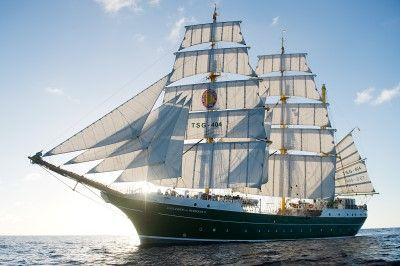 Alexander von Humboldt II  chiffstyp:3-Mast-Bark  Heimathafen/Flagge:Bremerhaven/Deutschland Länge:65,05 MeterBreite:10,06 Meter Tiefgang:5,10 MeterSegelfläche:1360 m² Masthöhe:39 MeterGross Tonnage:763 Tonnen Hauptmotor:      749Geschwindigkeit:        unter Segeln 14 Knoten / mit Motor 11 Knoten