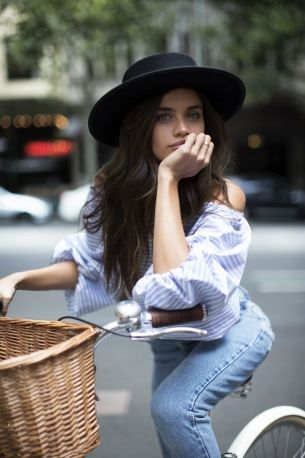 Sara Sampaio on Australian designers, never being barefoot and great white sharks