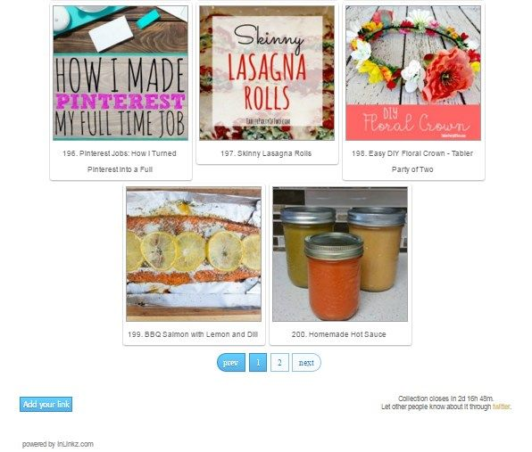 I hope you've found some inspiration to recreate, reinvent, repurpose, or refresh something in your home into something new or create nice food and crafts for your family.