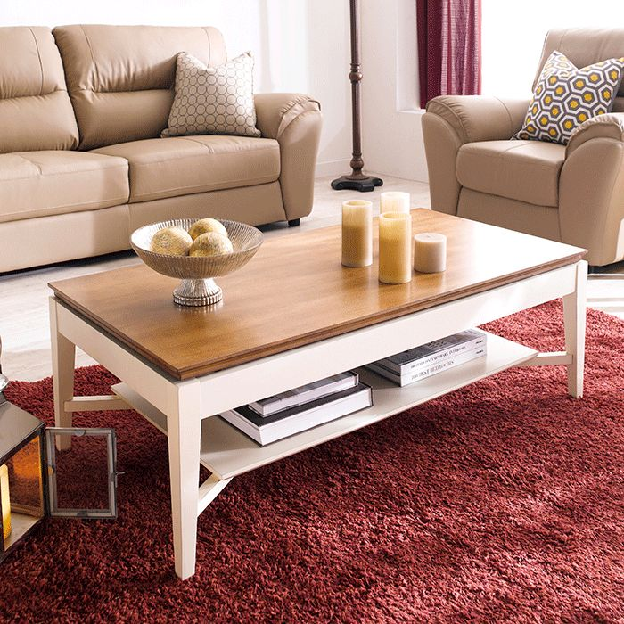 T3070-43 Wood Lift Top Cocktail Table > 소파테이블   ARIA FURNITURE 아리아퍼니쳐