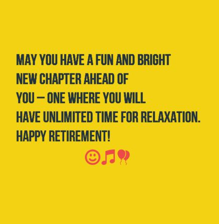 The 40 Happy Retirement Wishes | WishesGreeting