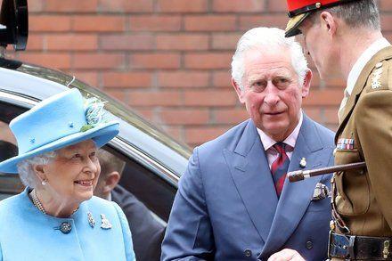 Queen Elizabeth II Delegates Wreath Ceremony to Prince Charles