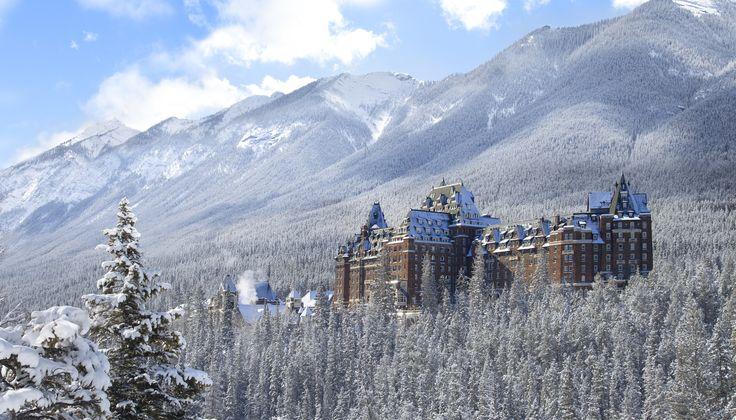 The Fairmont, Banff, Alberta-10 Best Ski Resorts to Visit This Winter   Architectural Digest