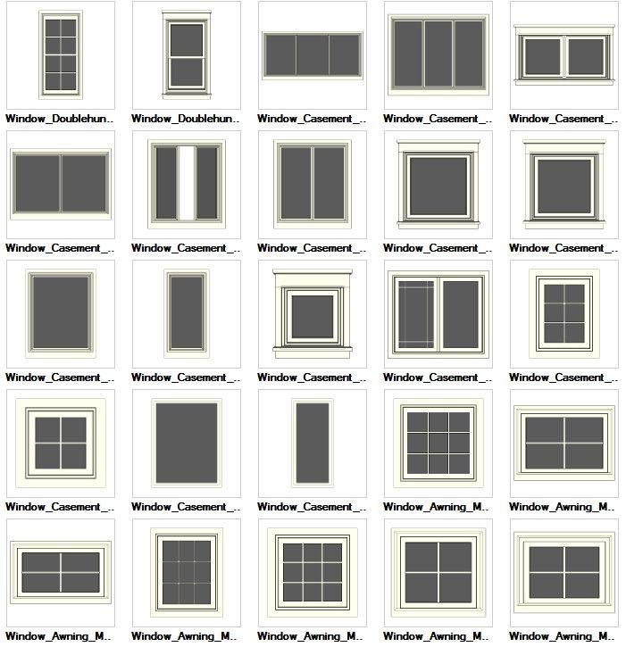 65 best sketchup models download images on pinterest for Window design cad