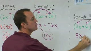 Help students overcome the challenges of learning the distributive property. Watch a unique Algebra I Math lesson idea that helps teachers to get students to better understand the distributive property. Uses the Cornell Note taking system and guided practice.