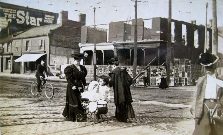 Corner of Yonge & Bloor St. - 1898