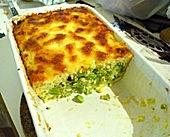 Brokkoli - Grieß - Auflauf mit Hüttenkäse (Rezept mit Bild) | Chefkoch.de