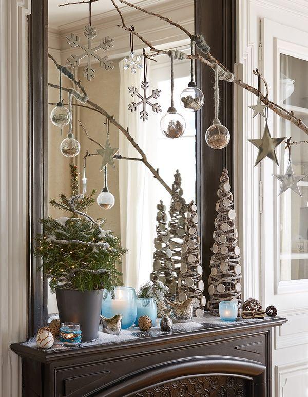 Collection Jardin givré. Ici le thème de la nature a été revisité pour créer un décor inédit où le verre et l'aluminium côtoient le bois et la céramique. botanic®