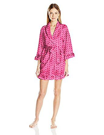 Betsey Johnson Women's Vintage Terry Robe, ... by Betsey Johnson for $58.00 http://amzn.to/2ljVifr