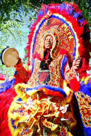 mardi gras indians after katrina - Google Search