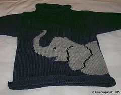 Ravelry: #18 Animal Pullovers pattern by Nicky Epstein. 2-8 years